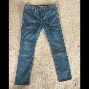 Vince Hollie slim straight jeans, size 30